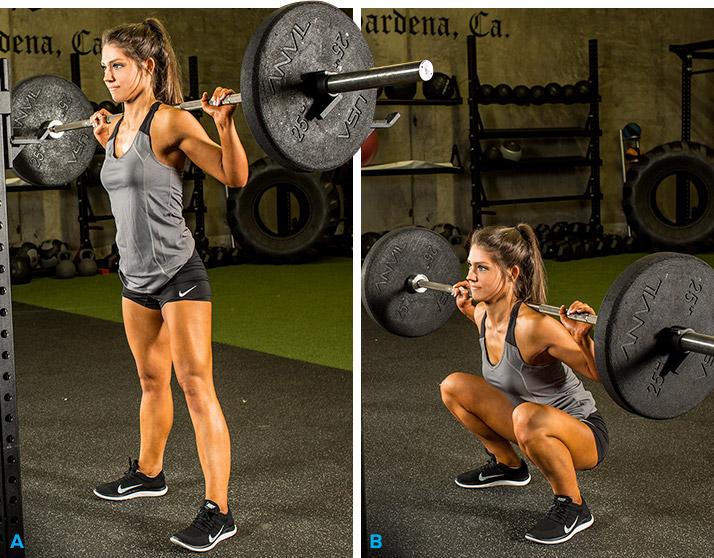 Тренировки на мышечную выносливость подразумевают достаточно легкие веса, с которыми можно сделать 15-20 повторений или более.